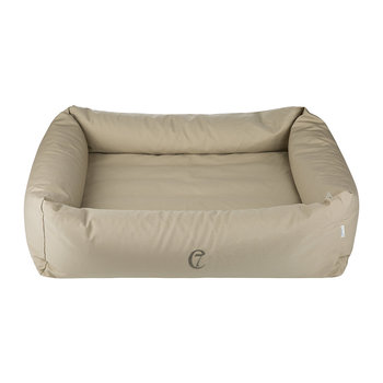 Organic Cotton Sleepy Dog Bed - Sand