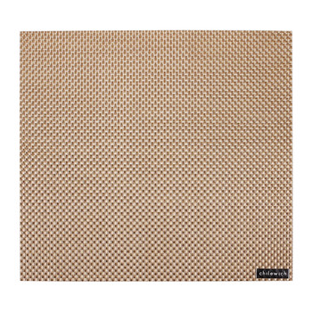 Basketweave Square Placemat - New Gold