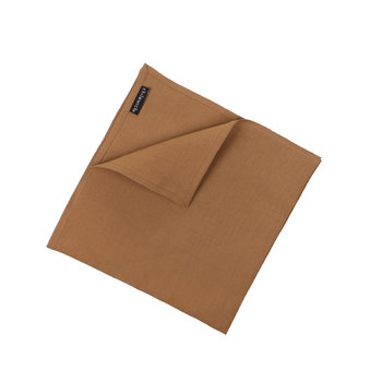 Single Linen Napkin - Caramel