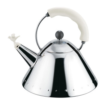 Bird Whistle Kettle - White