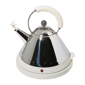 Electric Bird Kettle - White