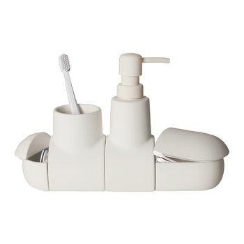 Submarino Bathroom Accessory - White