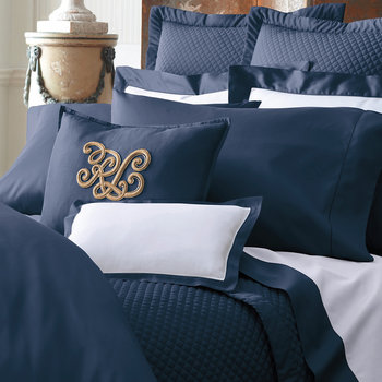 Langdon Duvet Cover - Navy