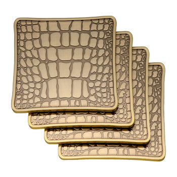 Crocodile Coasters - Set of 4