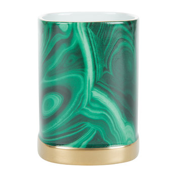 Malachite Pencil Holder
