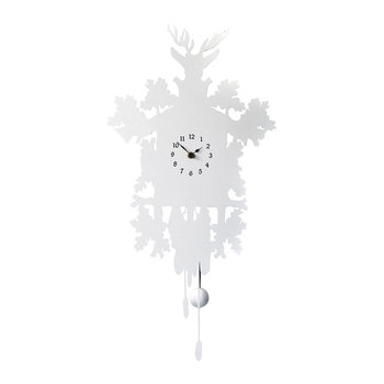 Cucù Mignon Clock without Bird - White