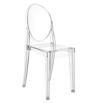 Victoria Ghost Chair - Crystal