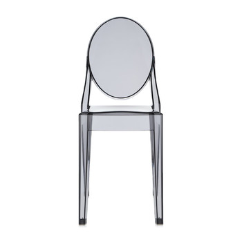 Victoria Ghost Chair - Smoke Gray