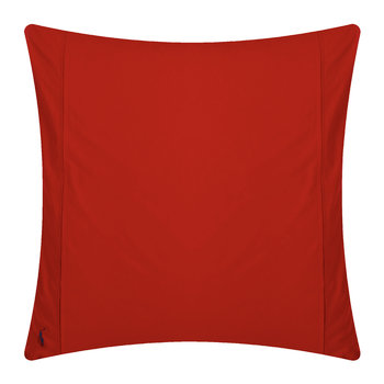 Polo Player Pillowcases - Red Rose - Set of 2 - 65x65cm