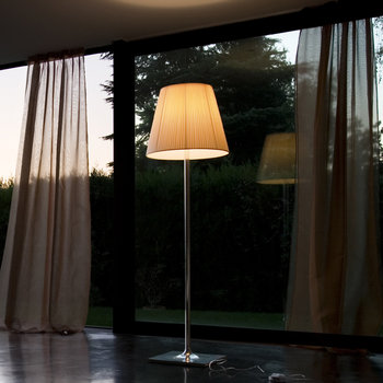 KTribe F Floor Lamp with Dimmer - Fabric