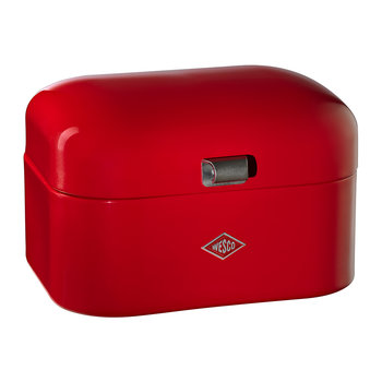Single Grandy Bread Bin - Red