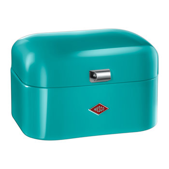 Single Grandy Bread Bin - Turquoise