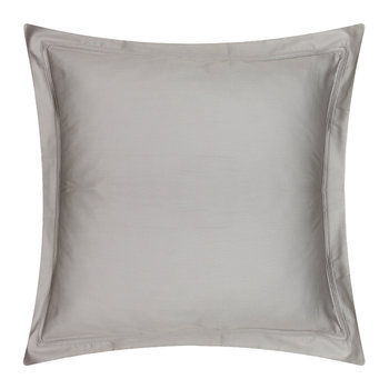 Triomphe Sateen Pillowcase - Platinum - 65x65cm