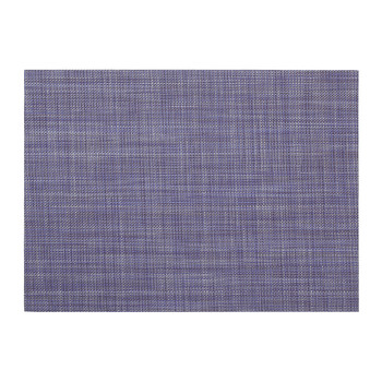 Mini Basketweave Rectangle Placemat - Blueberry