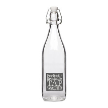 """Tap Water"" Glasflasche"