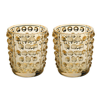 Mossi Votives - Set of 2 - Gold Luster