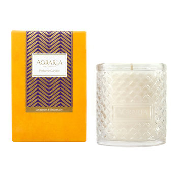 Woven Crystal Candle - Lavender & Rosemary - Lavender & Rosemary
