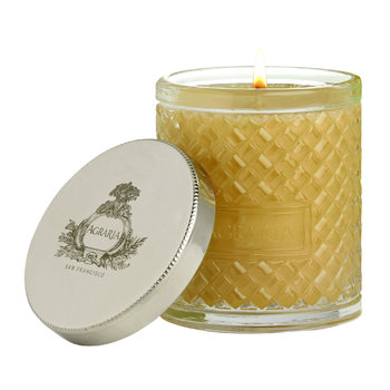 Woven Crystal Candle - 200g - Golden Cassis