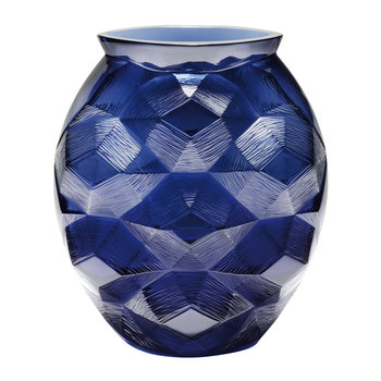 Midnight Blue Turtle Vase