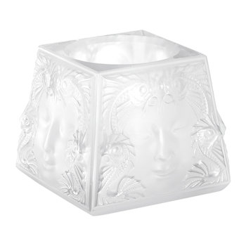 Clear Woman's Mask Votive