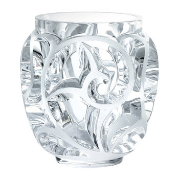 Vase Clear Tourbillons