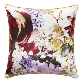 Floris Silk Reversible Bed Cushion - 001