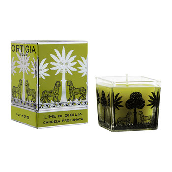 Lime Di Sicilia Square Scented Candle