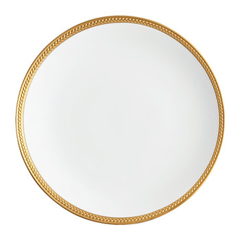 Soie Tressée Gold Plated Dinner Plate