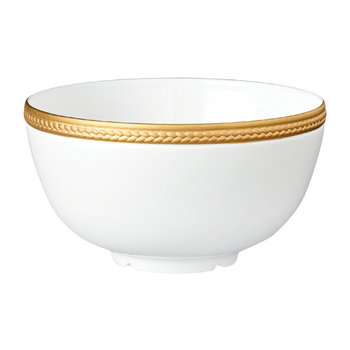 Soie Tressée Gold Plated Soup Bowl
