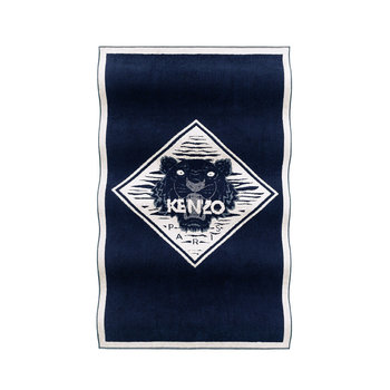 TigerKZ Beach Towel - Navy