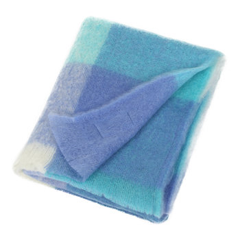Mohair Throw - Sky