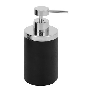 Combo Dark Wood Soap Dispenser