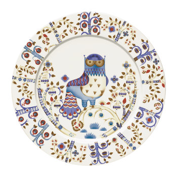 Taika Serving Plate  - White