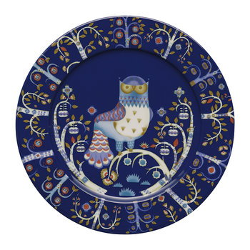 Taika Serving Plate - Blue