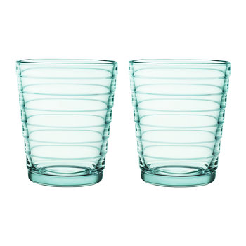 Aino Aalto Tumblers - Water Green - Set of 2 - Small