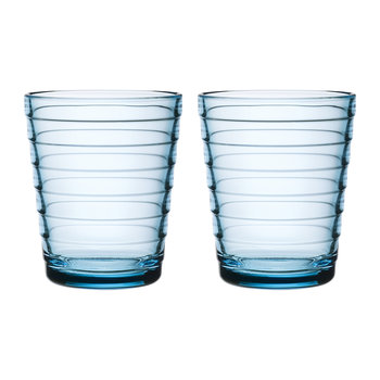 Aino Aalto Tumblers - Light Blue - Set of 2