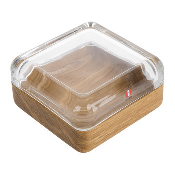 Vitriini Box - Clear/Oak - Large