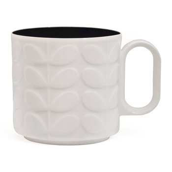 Raised Stem Mug - Charcoal