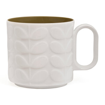 Raised Stem Mug - Green