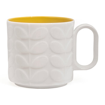 Raised Stem Mug - Yellow