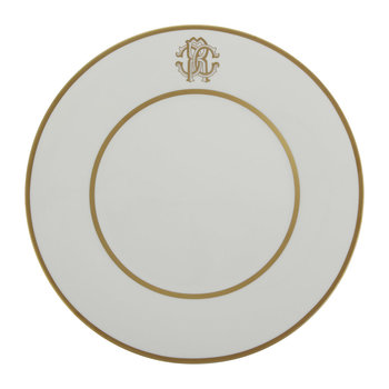 Silk Gold Charger Plate