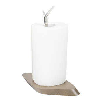 Trattoria Kitchen Roll Holder - Tobacco