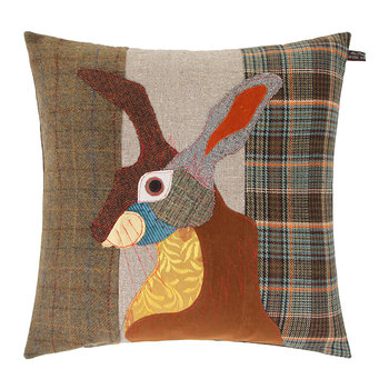 Brown Hare Pillow - 50x50cm