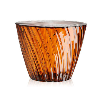 Sparkle Stool/Side Table - 35cm - Amber