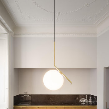IC S2 Ceiling Light - Brass