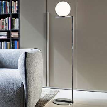 IC Floor Lamp - Chrome