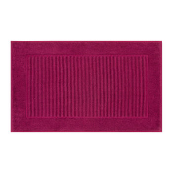 Supreme Hygro Terry Bath Mat - Rasberry
