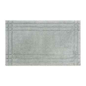 Christy Tufted Bath Mat - Silver