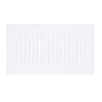 Christy Terry Bath Mat - White
