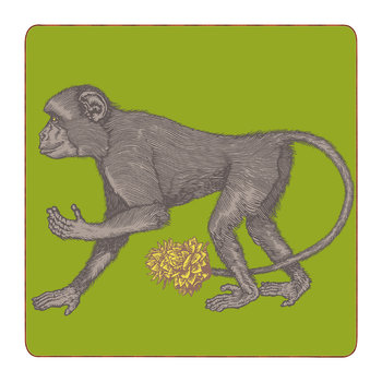 Puddin' Head - Animaux Placemat - Monkey